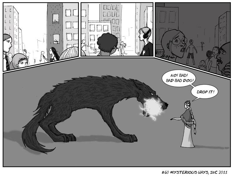 Mysterious Ways, Inc. (webcomic)
